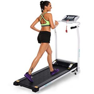 ANCHEER 502 Folding Electric Treadmill, Easy Assembly Motorized Running Machine