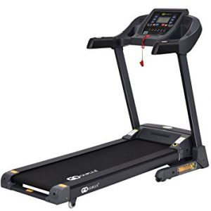 Goplus 2.25HP Folding Treadmill Electric Support Motorized Power Running