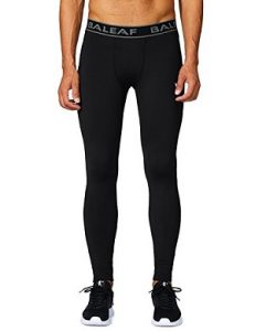 Baleaf Men's Running Fitness Workout Compression Base Layer Tights