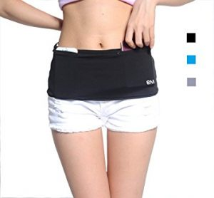 Easymate Fashion Running Belt / Travel Money Belt