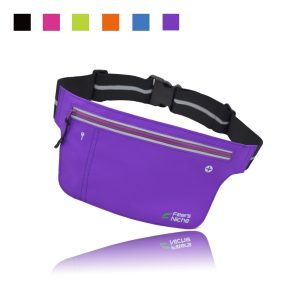 Fitter's Niche Ultra Slim Fitness Sports Waist Fanny Pack